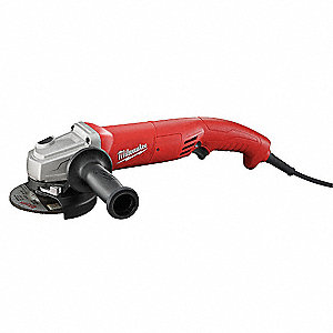 "11-Amp Trigger-Switch Angle Grinder with 4-1/2"" Wheel Dia."