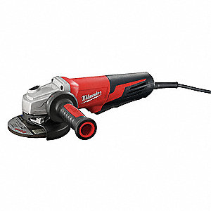 "13-Amp Paddle-Switch Angle Grinder with 5"" Wheel Dia."