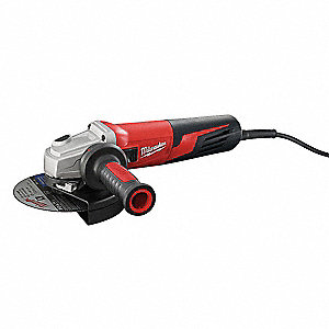 "13-Amp Trigger-Switch Angle Grinder with 6"" Wheel Dia."