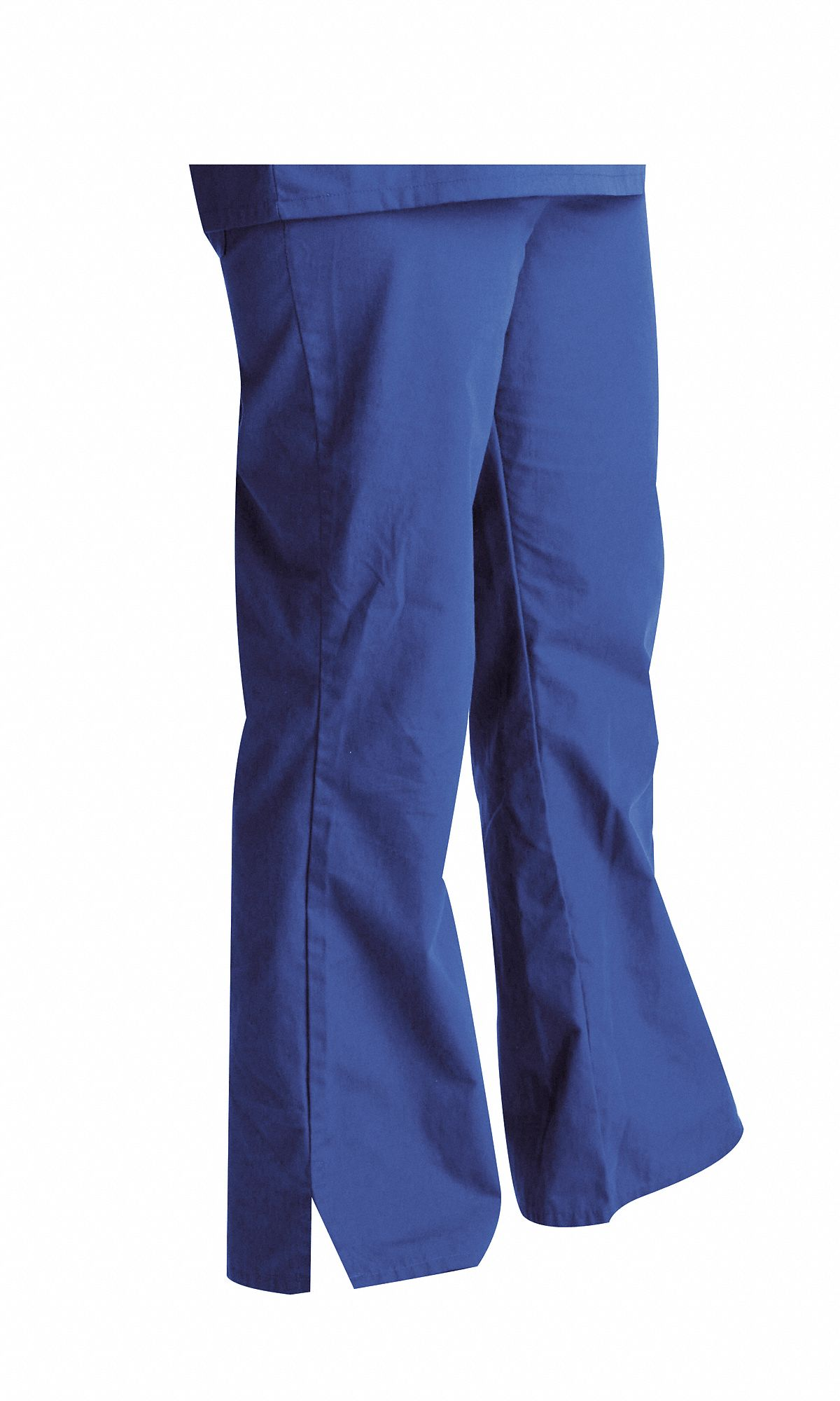 Royal Blue Scrub Pants,  XL,  Polyester/Cotton,  Fits Waist Size 35 to 38 in,  Women's
