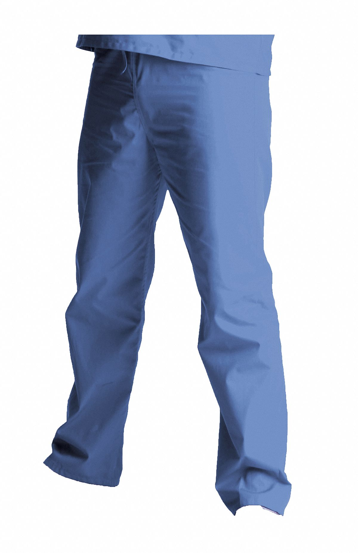 Ceil Blue Scrub Pants,  M,  Polyester/Cotton,  Fits Waist Size 32 to 34 in,  Unisex