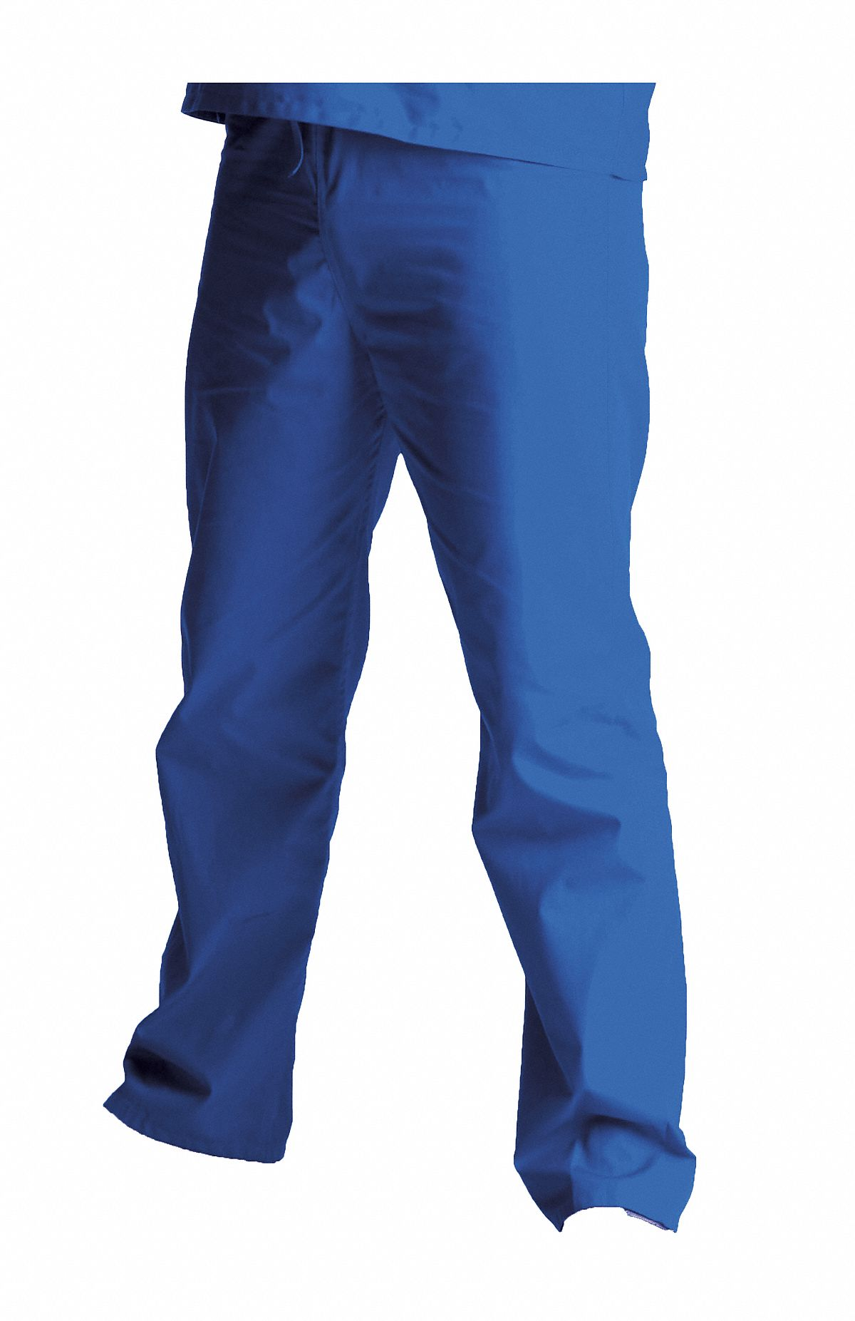 Royal Blue Scrub Pants,  L,  Polyester/Cotton,  Fits Waist Size 35 to 38 in,  Unisex