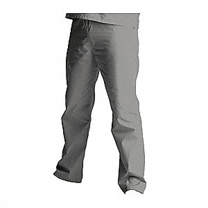 Scrub Pants,L,Gray,Unisex