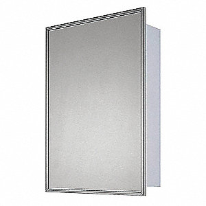 "Shatterproof 14""H x 10""W Safety Mirror"
