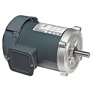 3/4 HP General Purpose Motor,3-Phase,1725 Nameplate RPM,Voltage 208-230/460,Frame 56C