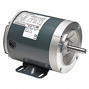 1/2 HP General Purpose Motor,3-Phase,1725/1425 Nameplate RPM,Voltage 208-230/460,Frame 56C