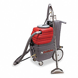 "Portable Carpet Spotter, 9 gal., 115V, 150 psi, 12"" Cleaning Path"