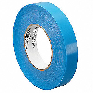"Polyolefin Film Tape, Acrylic Adhesive, 11.50 mil Thick, 1/2"" X 36 yd., Clear, 1 EA"