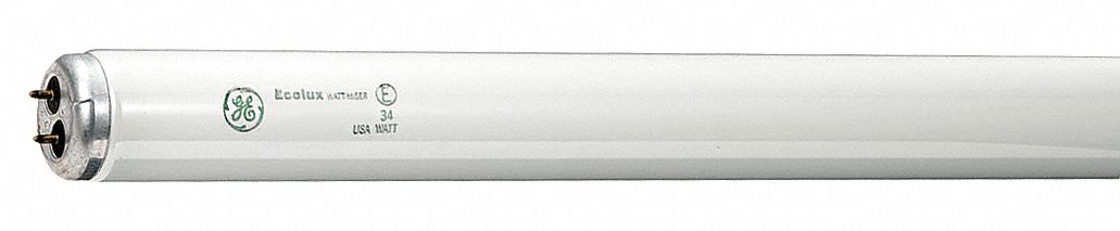 Linear Fluorescent Bulb,  T12,  Medium Bi-Pin (G13),  Lumens 1,150 lm,  4,100 K Color Temperature