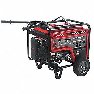 Recoil Gasoline Portable Generator, 3500 Rated Watts, 5000 Surge Watts, 120VAC/240VAC