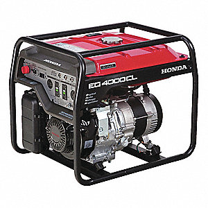 Recoil Gasoline Portable Generator, 3500 Rated Watts, 4000 Surge Watts, 120VAC/240VAC