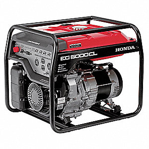 Portable Generator, 120/240VAC Voltage, 4500 Rated Watts, 5000 Surge Watts, 41.2/20.8 Amps @ 120/240