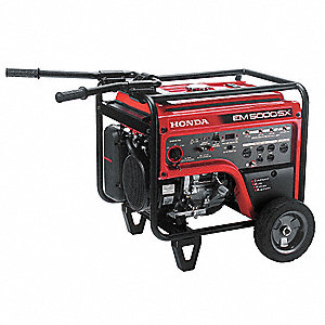 Portable Generator, 120/240VAC Voltage, 4500 Rated Watts, 7000 Surge Watts, 41.2/20.8 Amps @ 120/240