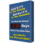Safety Is The Priority Quality Is The Standard Our Plant Has Worked ___ Days Without A Recordable Injury Accidents Are Preventable! Safety Scoreboards