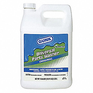 1 gal. RTU Parts Washer Cleaner, Clear