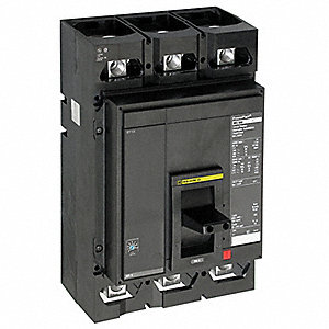 Circuit Breaker,  450 Amps,  Number of Poles:  3,  600VAC AC Voltage Rating