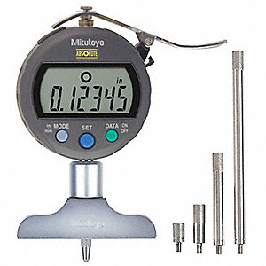 Electronic Digital Depth Gage,0 to 8 In
