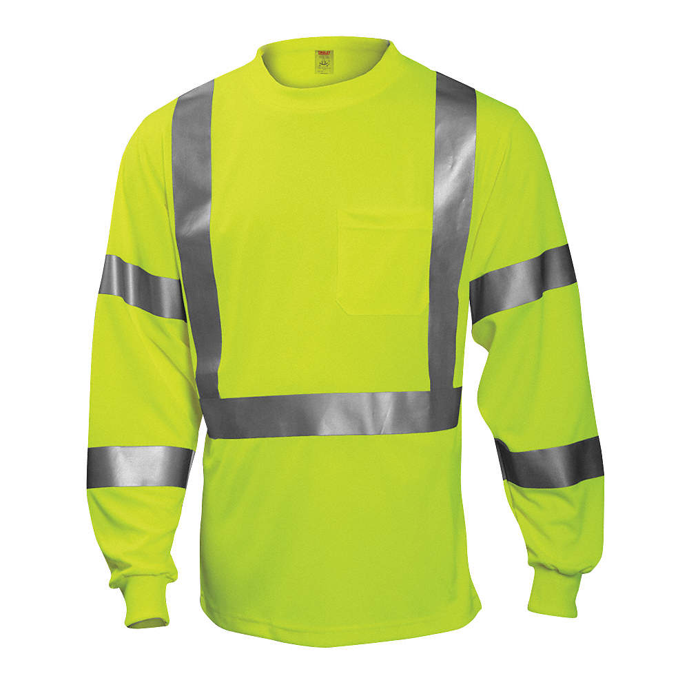 b5ddf95ec1 Zoom Out/Reset: Put photo at full zoom & then double click. Hi-Vis T-Shirt, Long  Sleeve, Lime ...
