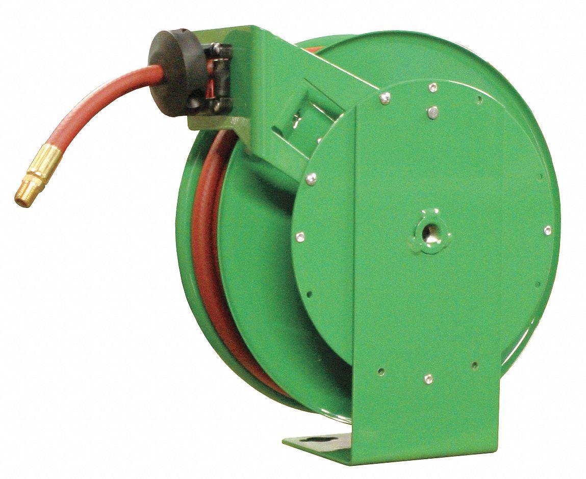 Spring Return Hose Reel, 300 psi Max. Pressure - 4UKX5 4UKX5 - Grainger
