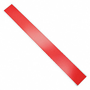 Barricade Tape,Red,1000 ft x 3 In