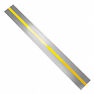 "Tape Strips w/Reflective Stripe, 2"" x 18"", 100 PK"
