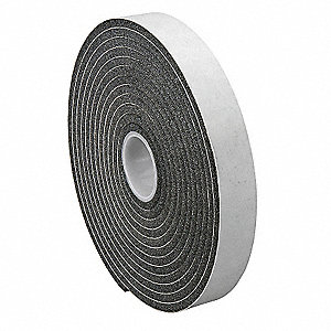 Foam Tape,1In.x5 yd.,250 mil
