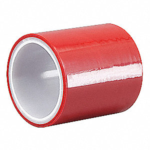 Seaming Tape,72mm x 5 yd,3 mil,Red,BOPP