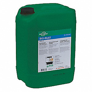 5.3 gal.  pH Neautral Rust Remover, Orange