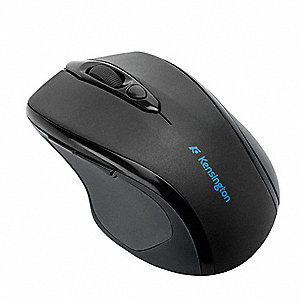 Corded Mouse, Optical, Black, USB