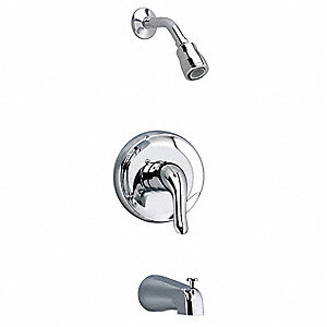 Brass, Plastic Trim Kit Only Bath/Shower Trim Kit, 1.5 gpm