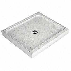 60 X 30 4 Single Threshold Terrazzo Shower Floor