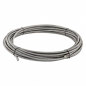 Ridgid Solid Core Drain Cleaning Cable 1 2 Quot X 75 Ft