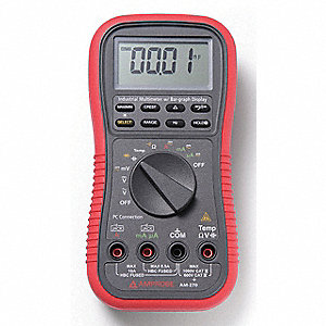 AMPROBE (R) AM-270 Full Size - General Features Digital Multimeter, Instrument Counts: 5000