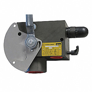 "9.3"" 24VDC Steel Accumulator Safey Block&#x3b; Relief Valve Setting 3625 psi"