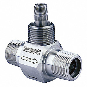 0.75 to 7.5 gpm Turbine Mechanical Flowmeter