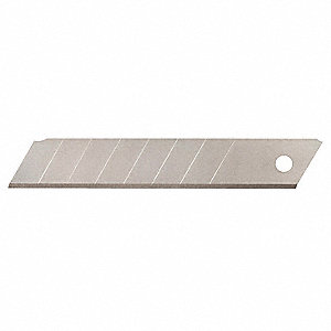 "4-1/4"" x 18mm Carbon Steel Snap-Off Blade&#x3b; PK10"