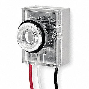 Photocontrol, 120VAC Voltage, 1800 Max. Wattage, Fixed Mounting