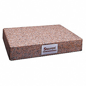 Granite Surface Plate,Pink,B,18x24x4