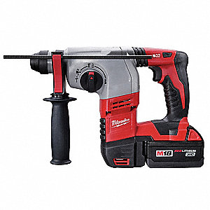 Cordless Rotary Hammer Kit, 18.0 Voltage, 0 to 4800 Blows per Minute, Battery Included