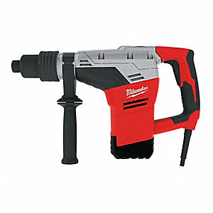 Spline Rotary Hammer Kit, 10.5 Amps, 3000 Blows per Minute, 120 Voltage