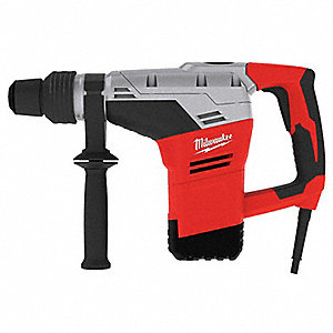 SDS Max Rotary Hammer Kit, 10.5 Amps, 3000 Blows per Minute, 120 Voltage