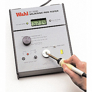 Soldering Iron Tester With British Plug