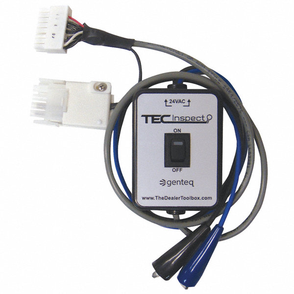 Genteq ecm motor diagnostic tool for use with ecm motors for General motors extended warranty plans