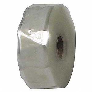 "1""W Silicone Rubber Self-Fusing Tape, Clear, 432"" Length"