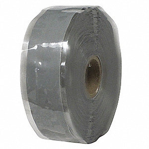 Self-Fusing Tape,1 x 432 in,20 mil,Gray