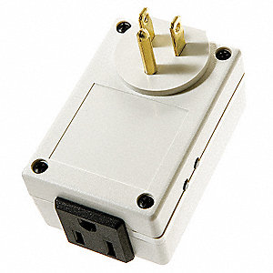 Wireless Plug-In On/Off Module, 6A for Leviton Sensors & Wireless Switches
