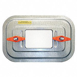 Observation Access Door,11 In. W,7 In. H