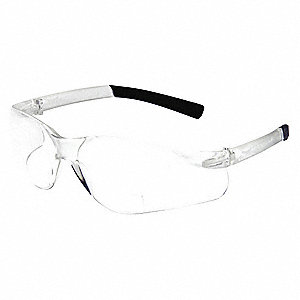Clear Scratch-Resistant Bifocal Reading Glasses, +1.0 Diopter