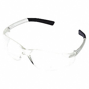 Clear Scratch-Resistant Bifocal Reading Glasses, +1.25 Diopter