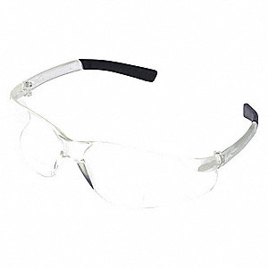 Clear Scratch-Resistant Bifocal Reading Glasses, +1.5 Diopter